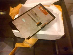 Kapot beeldscherm asus Nexus 7 zelf gerepareerd